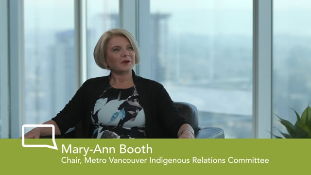 Chat with the Chair - Mary-Ann Booth, Chair, Indigenous Relations Committee
