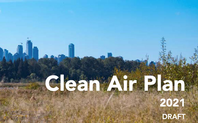 Share Your Ideas On the Clean Air Plan to Reduce Air Contaminant Emissions