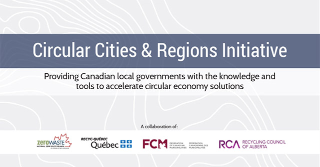 Introducing the Circular Cities and Regions Initiative