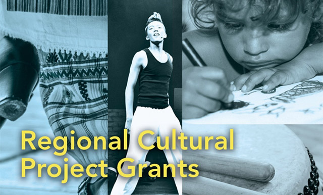 Regional Arts and Culture Funding Available