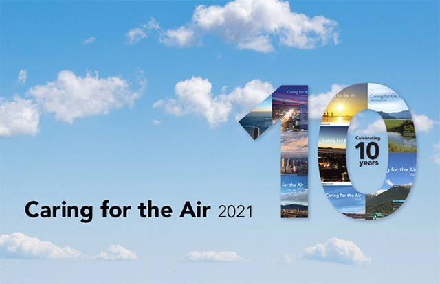 Celebrating 10 Years of Caring for the Air